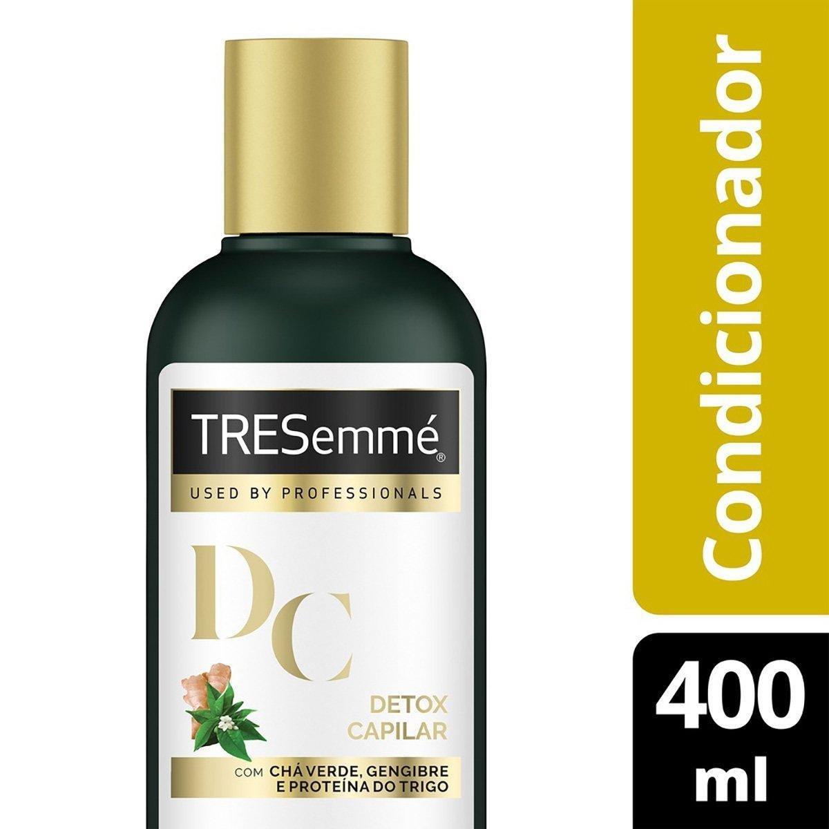 Condicionador Tresemmé Detox Capilar 400ml