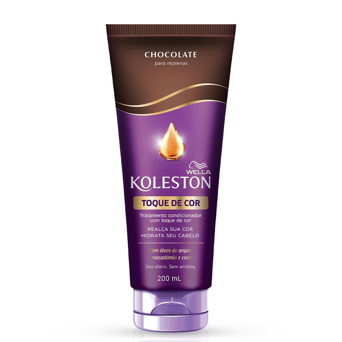 Condicionador Koleston Toque de Cor Chocolate - 200ml