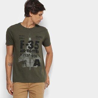 Camiseta JAB Gola Careca Masculina 666ec92ef6d41
