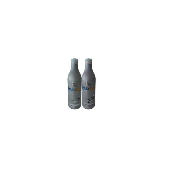59bbbdde9c2d7 Kit Salvatore Blue Gold Premium Taninoplastia 2 x 500ml - Compre ...