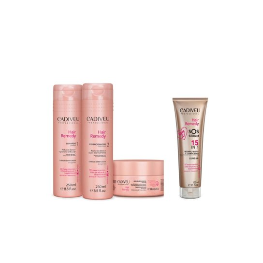 21dc8a451 Kit Cadiveu Hair Remedy SOS - Incolor - Compre Agora