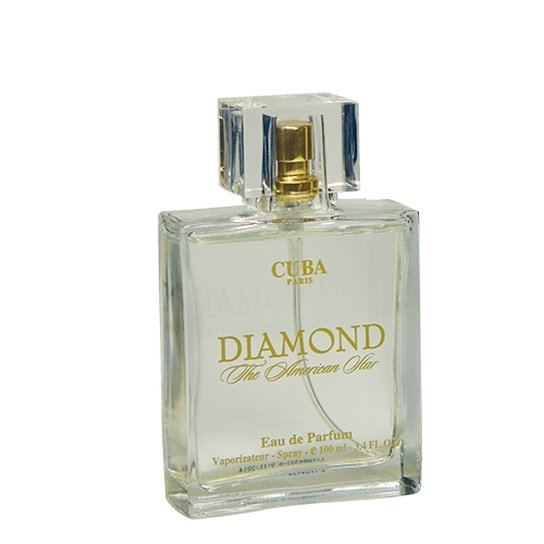 846089206a Diamond Cuba Paris - Perfume Masculino - Eau de Parfum 100ml - Incolor