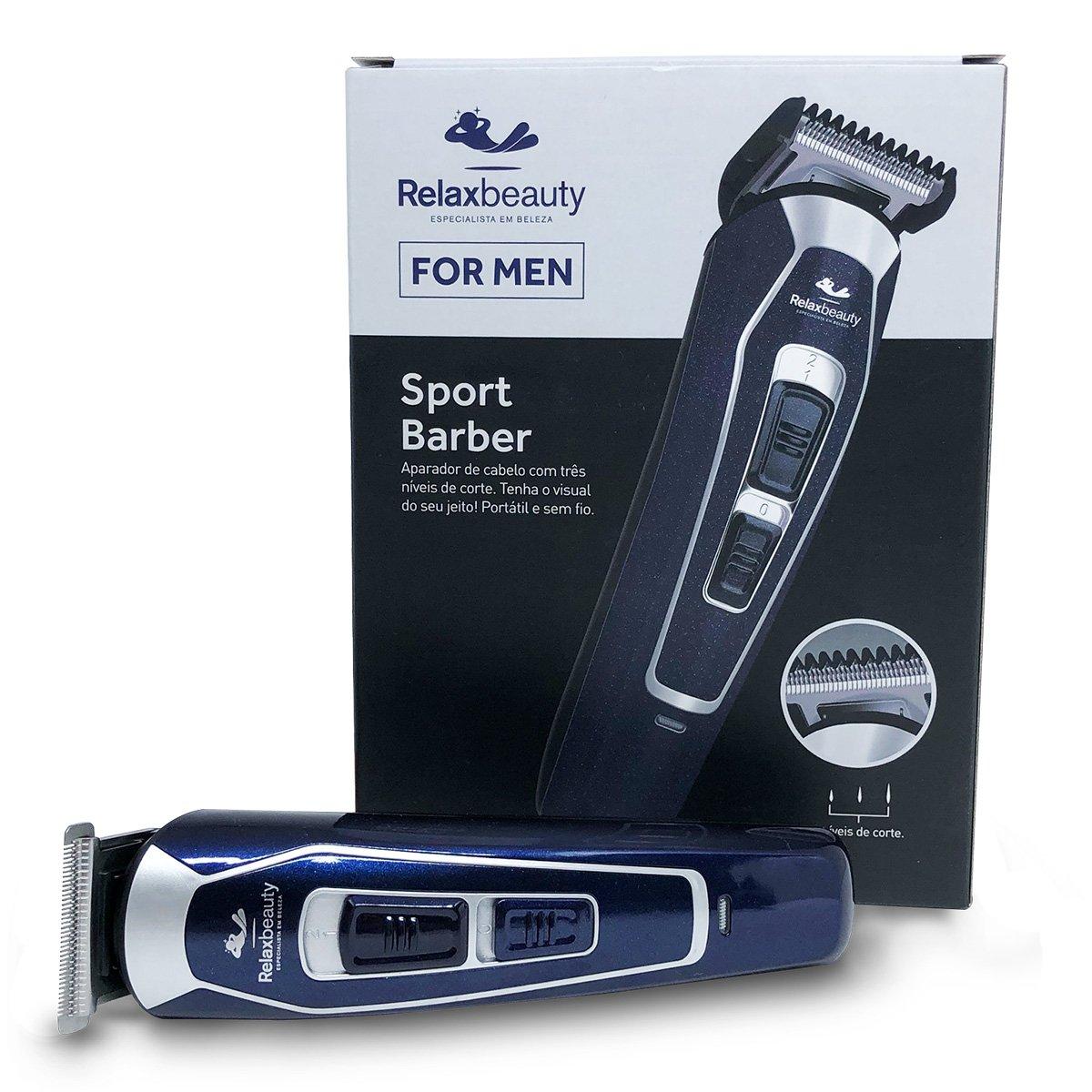 Aparador de Cabelo Relaxmedic Sport Barber