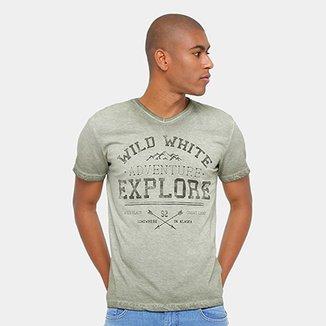 a41af2b289 Camiseta Tigs Explore Estonada Masculina