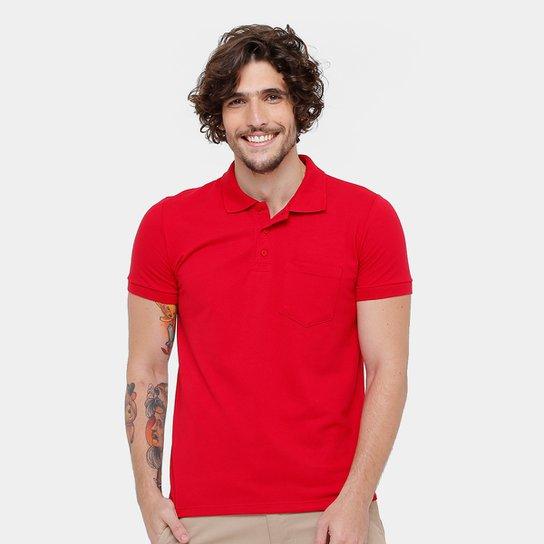 e3127dbdd7 Camisa Polo Kohmar Piquet Básica Masculina - Vermelho - Compre Agora ...