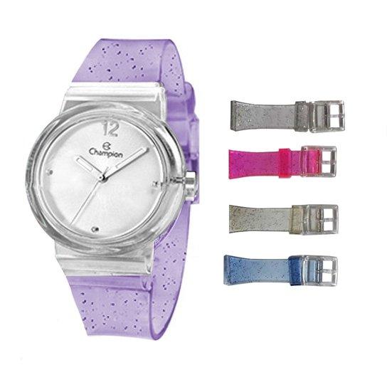 f232e574cef Relógio Feminino Champion Troca Pulseiras Cp28266s - Compre Agora ...