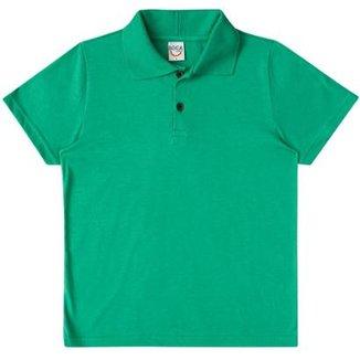 b035163d1f57 Camisa Polo Infantil Boca Grande Básica Masculina