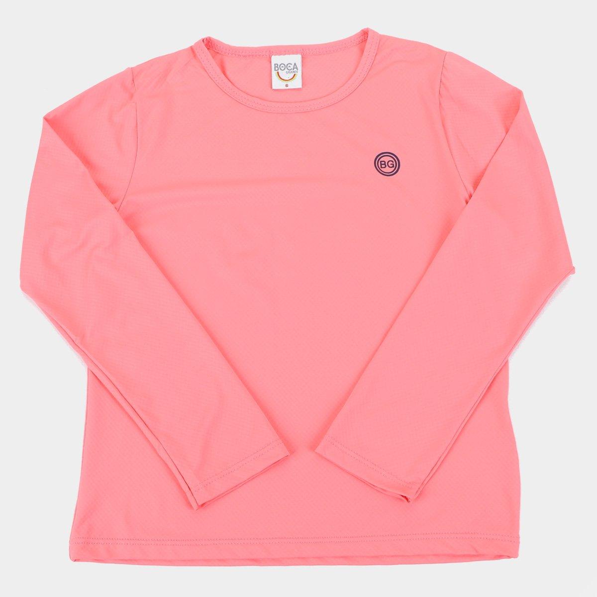 Camiseta de Praia Infantil Boca Grande Proteção UV50+ Feminina