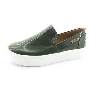 8f5ff7f19f Tênis Slip On Quality Shoes Flatform Verniz Feminino