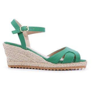 0a199bdf12 Sandálias Feminino Verde Tamanho 35 - Calçados