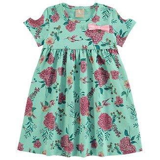 b3e1d7e40 Vestido Infantil Milon Evasê Floral