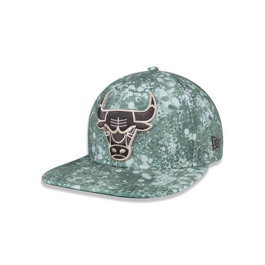 Boné 950 Original Fit Chicago Bulls NBA Aba Reta Snapback New Era - Verde f0f6b3e6530