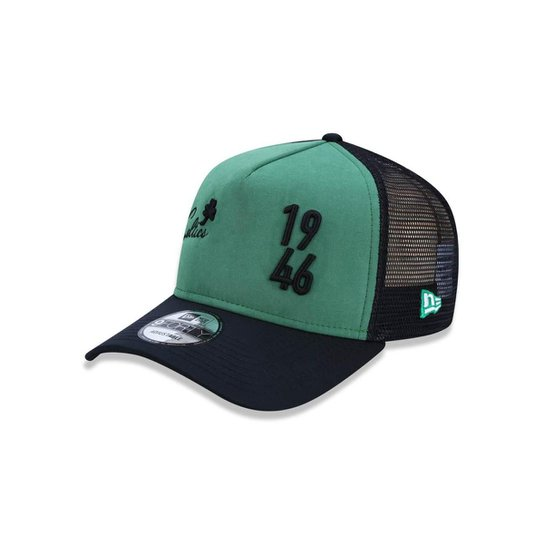 Boné 940 Boston Celtics NBA Aba Reta New Era - Verde e Preto ... dfacdface84