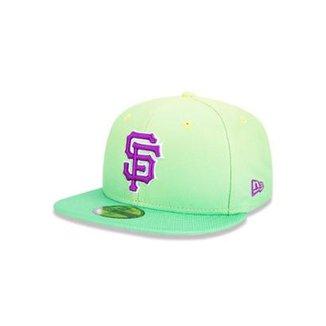Boné 5950 San Francisco Giants MLB Aba Reta New Era 87b49fa1dcf