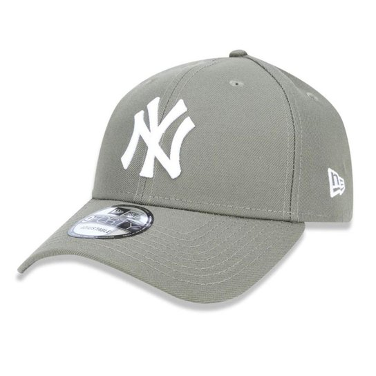 Boné New Era Aba Curva New York Yankees Olive - Mlb - Verde - Compre ... 388da736eef