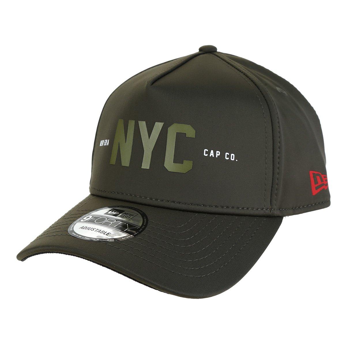 Boné New Era 940 NYC Aba Curva