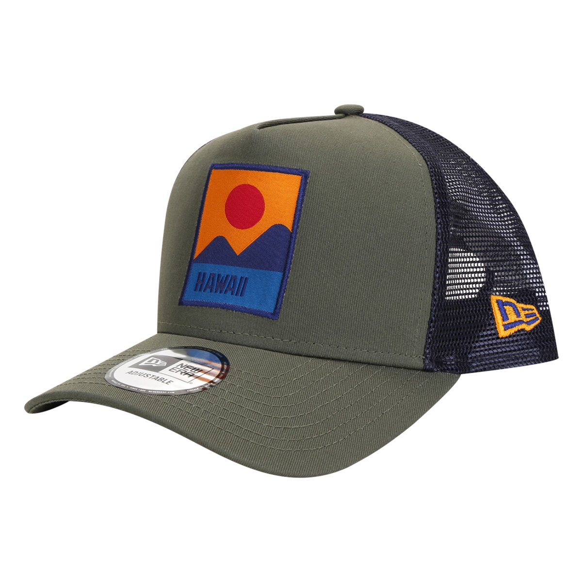 Boné New Era Aba Curva Snapback 940 AF NE Location Nov