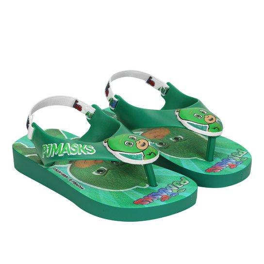 0102544fc4 Sandália Infantil Grendene PJ Masks Masculino - Verde - Compre Agora ...