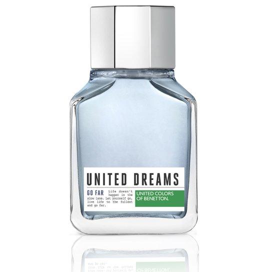 5fc9e7a8a Benetton Perfume Masculino United Dreams Go Far EDT 100ml - Incolor ...