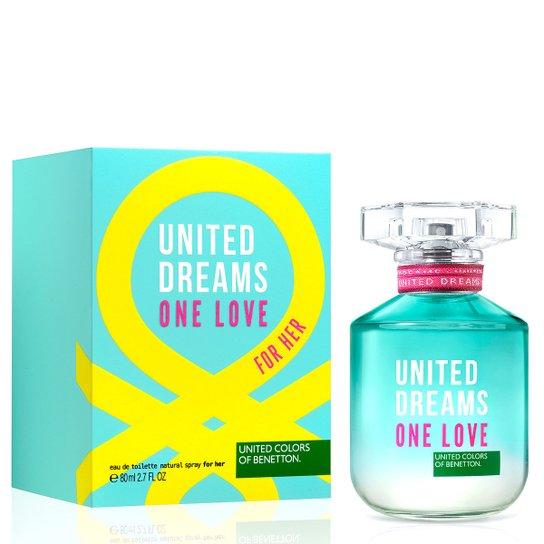 ad2ced33108 Perfume One Love Her Feminino Benetton Eau de Toilette 80ml - Compre ...