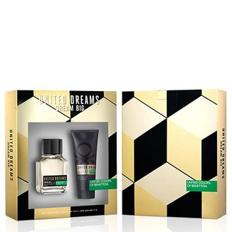 Kit Perfume Dream Big Man Masculino Benetton EDT 100ml + Pós Barba 75ml 24ae7e4f40