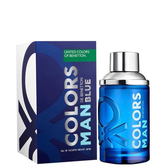 315607523ce Perfume Colors Man Blue Masculino Benetton Eau de Toilette 60ml - Incolor