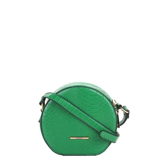 Bolsa WJ Mini Bag Redonda Croco Feminina - Compre Agora  c16235146fd