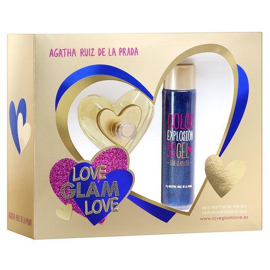 Perfume Love Glam Love Feminino Agatha Ruiz De La Prada EDT 80ml + Gel de  Banho 9f77719a94