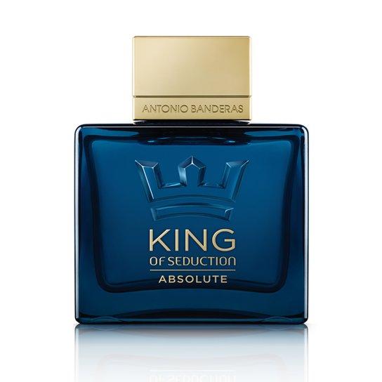 35227f4aa Antonio Banderas Perfume Masculino King Of Seduction Absolute EDT 100ml -  Incolor