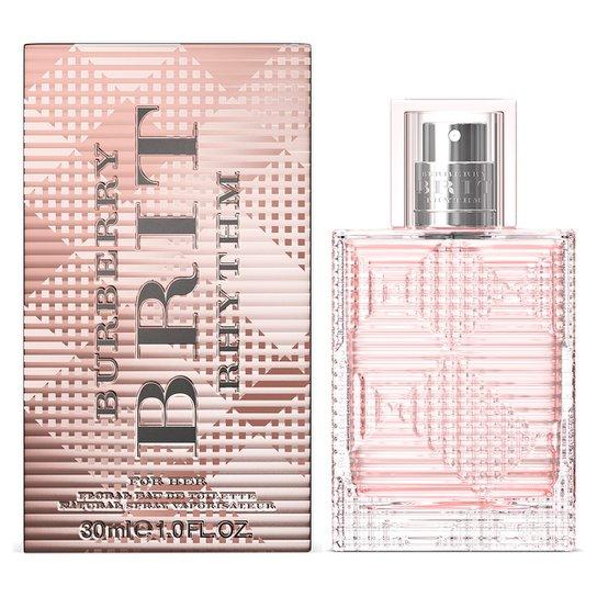 83bac8dfe Perfume Brit Rhythm Women Floral Feminino Burberry Eau de Toilette 30ml -  Incolor