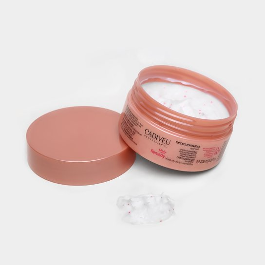68bc8f6a3 Máscara Reparadora Cadiveu Professional Hair Remedy 200ml - Incolor ...