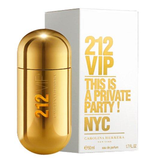 b9bda78ba86bb Perfume 212 Vip Feminino Carolina Herrera EDP 50ml - Incolor ...