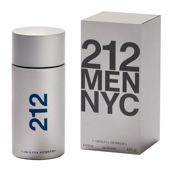 14b28edc619 Carolina Herrera Perfume Masculino 212 NYC Men EDT 200ml - Incolor ...