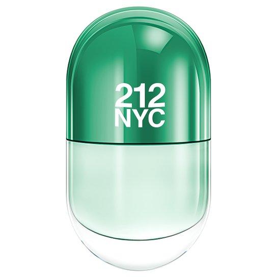 Perfume 212 NYC New York Pills Feminino Carolina Herrera Eau de Toilette  20ml - Incolor 5ef8615300