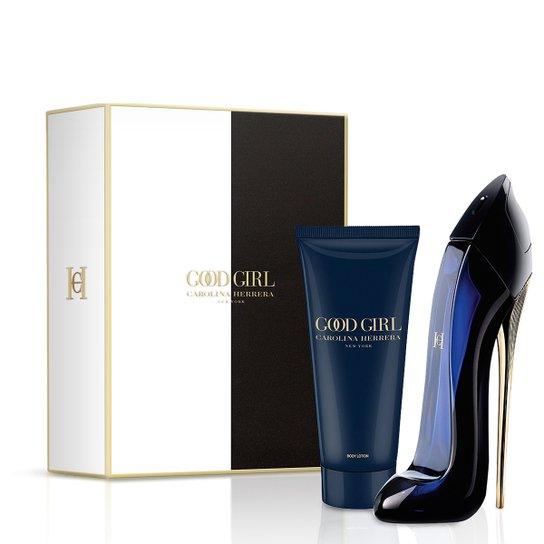 Kit Carolina Herrera Good Girl Perfume Feminino EDP 80ml + Loção Corporal  100ml - Incolor 988a09548b
