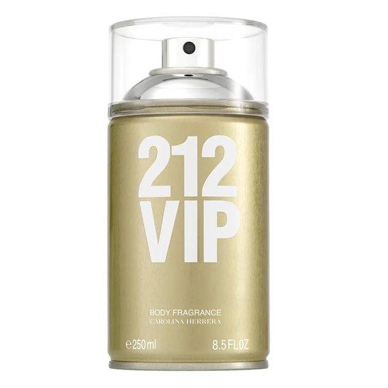 b783da015a Body Spray Feminino 212 VIP Carolina Herrera 250ml - Incolor   Zattini