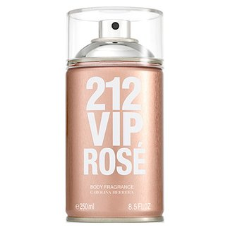 8f3e14352 Body Spray Carolina Herrera 212 VIP Rosé Feminino 250ml
