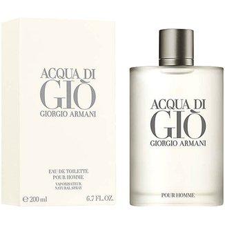 3176b2ebc Perfume Acqua di Giò Masculino Giorgio Armani EDT 200ml