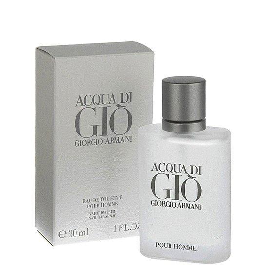 386c191cd2bbd Giorgio Armani Perfume Masculino Acqua Di Giò EDT 30ml - Incolor ...