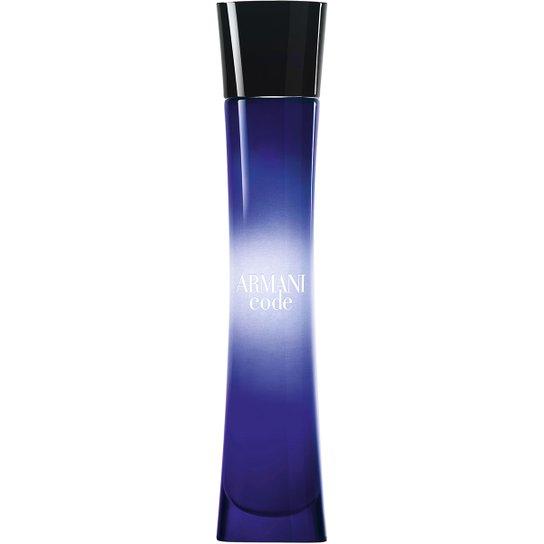 6d2cc9e9a2d Perfume Armani Code Femme Giorgio Armani Eau de Parfum 75ml - Incolor