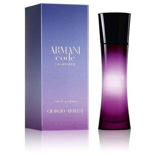 Perfume Armani Code Cashmere Feminino Giorgio Armani EDP 30ml - Incolor 029e6f93cc