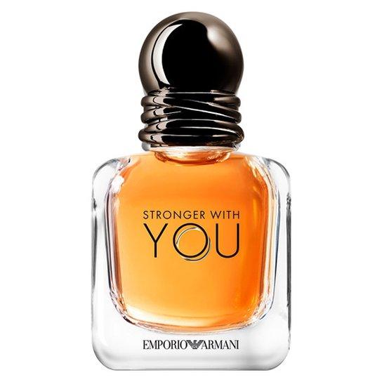 c320a2dacc5 Stronger with You He Giorgio Armani Perfume Masculino - Eau de Toilette  30ml - Incolor