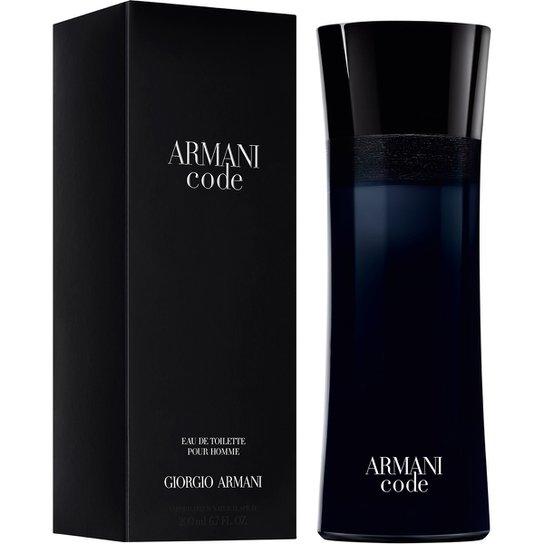 afa7ed38058 Perfume Armani Code Homme Masculino Giorgio Armani Eau de Toilette 200ml -  Incolor
