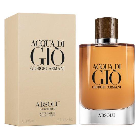 d0298a88269eb Perfume Acqua Di Giò Absolu Masculino Giorgio Armani Eau de Parfum 125ml -  Incolor