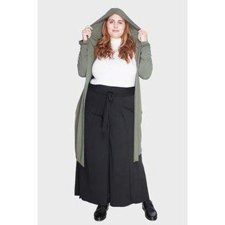 02fe6ebc4 Casaco Bold com Capuz Plus Size GG Feminino