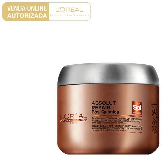 63da68b14 Máscara de Tratamento L'Oréal Professionnel Absolut Repair Pós Química 200g  - Incolor