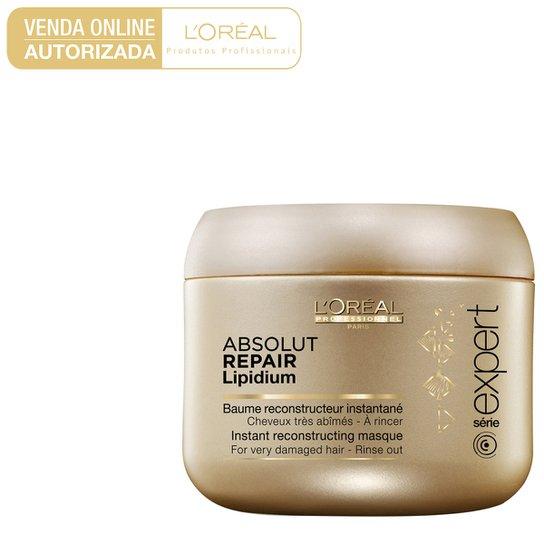 13375f3b7 Máscara de Tratamento L'Oréal Professionnel Absolut Repair Lipidium 200g -  Incolor