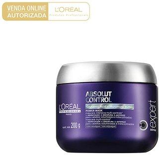 32dab7046 Máscara de Tratamento L'Oréal Professionnel Absolut Control 200g