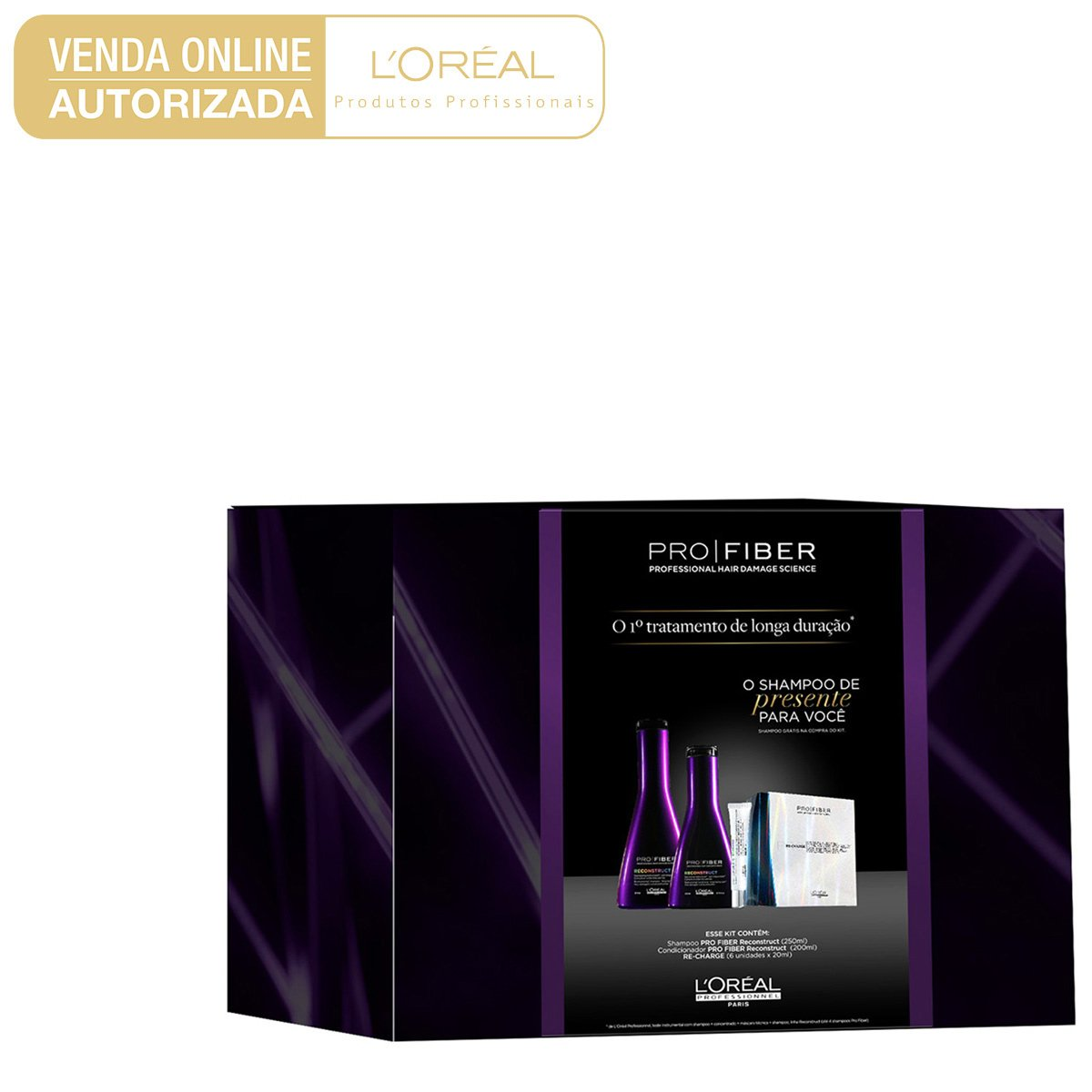 0685a8984 Kit L Oréal Professionnel Pro Fiber Reconstruct