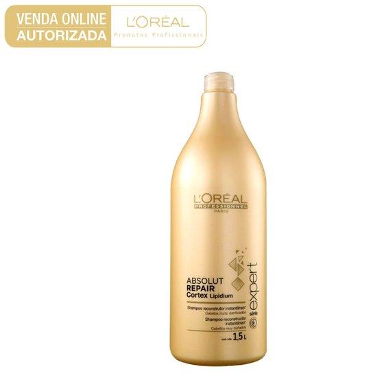 5a9f8c419 Shampoo L'oréal Professionnel Absolut Repair Cortex Lipidium 1,5L - Incolor